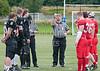14 August 2016 at Peffermill, Edinburgh. BAFA Division 1 semi-final match.<br /> Edinburgh Wolves v Kent Exiles
