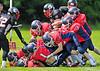 Lanarkshire Longhorns v Highland Wildcats. Game played at Lochinch, Glasgow, 14 July 2013.