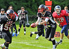 Lanarkshire Longhorns v Highland Wildcats. Game played at Lochinch, Glasgow, 14 July 2013.