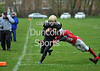 Clyde Valley Blackhawks v West Coast Trojans. BAFANL Division 1 game at Wishaw on 13 April 2014