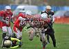 Clyde Valley Blackhawks v West Coast Trojans. BAFANL Division 1 game at Wishaw on 13 April 2014