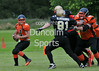 Glasgow Tigers v Clyde Valley Blackhawks. BAFANL National League game at Lochinch on 29 June 2014