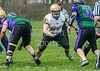 15 April 2018 at Beltane Park, Wishaw. BAFA NFC 2 North Division match - Clyde Valley Blackhawks v Dumfries Hunters
