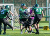 25 February 2018 at the University of Stirling. BUCS Premier Division game - Stirling Clansmen v Durham Saints