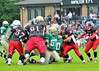 EK Pirates v Doncaster Mustangs<br /> A BAFANL Premier League North match played at Hamilton Rugby Club on 22 July 2012.