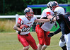 East Kilbride Pirates v Birmingham Bulls. Premiership North Division game played at Hamilton RFC on 20 July 2013.