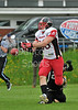 Lancashire Wolverines v East Kilbride Pirates. Premiership North match played at Blackburn RFC on 16 June 2013