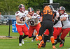 5th September 2021 at GHA Rugby Club. BAFA Caledonian Division game - East Kilbride Pirates v Glasgow Tigers