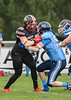 15th August 2021 at GHA Rugby Club. BAFA Caledonian Division match. East Kilbride Pirates v Inverclyde Goliaths