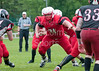 19 June 2016 at the West of Scotland Rugby Club, Milngavie, Glasgow.<br /> East Kilbride Pirates v North Central College Cardinals