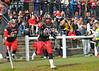1 May 2016 at Hamilton Rugby Club. BAFA Premier North Division match, East Kilbride Pirates v Tamworth Phoenix