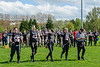 6 May 2018 at GHA Rugby Club, Glasgow.<br /> BAFA Premier North match -  East Kilbride Pirates v  Edinburgh Wolves