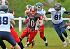 7 May 2016 at Hamilton Rugby Club. BAFA Premier North Division match, East Kilbride Pirates v Coventry Jets