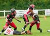 25 June 2016 at Hamilton Rugby Club. BAFA Premier North Division match.<br /> East Kilbride Pirates v Merseyside Nighthawks