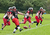 16 July 2016 at Hamilton RFC<br /> BAFA Premier North Division game<br /> East Kilbride Pirates v Sheffield Predators