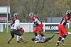 10 April 2016 at Hamilton Rugby Club. BAFA Premier North Division match, East Kilbride Pirates v Lancashire Wolverines