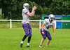 9 July 2017 at Hamilton Rugby Club. BAFA Under 19 north division match - East Kilbride Pirates v Leeds Academy Assassins