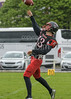 20 May 2017 at Burnbrae, Glasgow. American Football International challenge match - East Kilbride Pirates v Claremont-Mudd-Scripps Stags