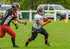 9 July 2017 at Hamilton Rugby Club. BAFA Premier North Division match. East Kilbride Pirates v Tamworth Phoenix.