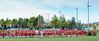 7 May 2017 at Peffermill, Edinburgh. BAFA Premier Division North American Football - Edinburgh Wolves v East Kilbride Pirates