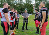 8 July 2018 at GHA Rugby Club, Glasgow. <br /> BAFA Premier Division match - East Kilbride Pirates v Merseyside Nighthawks