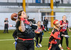 17 November 2018 at Ravenscraig Regional Sports Centre, Motherwell. BAFA flag football -  Opal Series 2018 round 4. <br /> East Kilbride Pirates V Chorley Buccaneers