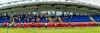 10 June 2018 at Meggetland, Edinburgh. BAFA Premier Division North game -  Edinburgh Wolves v East Kilbride Pirates