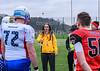 6 April 2019 at the University of Stirling.<br /> International challenge match - East Kilbride Pirates Juniors v team Stars and Stripes