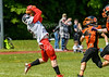 19 May 2019 at Nethercraigs, Glasgow.  BAFA Division 1 North Match - Glasgow Tigers v East Kilbride Pirates