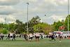 9 June 2019 at Druid Park, Newcastle. BAFA North Division 1 match - Northumberland Vikings v East Kilbride Pirates.