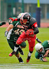 East Kilbride Pirates v Leicester Falcons. The Division 1 Final at Britbowl XXV, Played at Crystal Palace, London, on 24 September 2011.