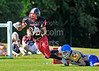 East Kilbride Pirates v Manchester Titans. Division1 game at Hamilton RFC on 24 July 2011.