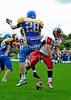 Manchester Titans v East Kilbride Pirates. Division1 game at Manchester on 14 August 2011.