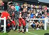 31 August 2014, Hamilton Rugby Club. BAFACL semi-final play-off, East Kilbride Pirates v London Blitz.