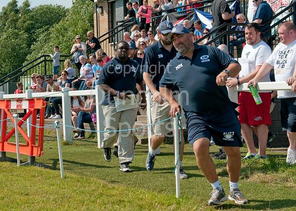 23 August 2015 at Hamilton Rugby Club.<br /> BAFANL Premier Division play-off match:<br /> East Kilbride Pirates v London Blitz.