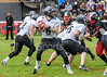 30 July 2017 at Hamilton Rugby Club. BAFA Premier North Division match. <br /> East Kilbride Pirates v Lancashire Wolverines