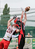 23 July 2017 at JMO Sports Park, Skelmersdale. BAFA  Premier north division -  Merseyside Nighthawks v East Kilbride Pirates