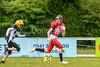 17th June 2018 at GHA Rugby Club, Glasgow. BAFA Junior League match  East Kilbride Pirates v Merseyside Nighthawks