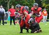 25 September 2021 at Hamilton Palace. Under 19 American Football - East Kilbride Pirates v Edinburgh Napier Knights.