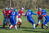 25 March 2016 at Queensferry Rugby Club. BAFA American Football Sapphire Women's Series, Round 3. <br /> Edinburgh Wolves v Manchester Titans