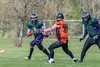 23 April 2017 at Lochinch. BAFA NFC 2 North match - Glasgow Tigers v Dumfries Hunters