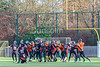 12 November 2017 at Garscube, Glasgow. BUCS Division 1 North game - Glasgow University Tigers v Edinburgh Napier Knights