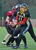 Glasgow University Tigers v Edinburgh Napier Knights. A BUCS Saltire Division game played at Garscube on 17 February 2013