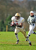 Stirling Clansmen v Loughborough Aces in a BUAFL play off game at Airthrey Castle on 11 March 2012.