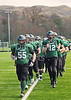 Stirling Clansmen v Imperial Immortals. A BUAFL semi-final match played on 23 March 2014