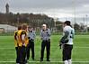 Stirling Clansmen v Sheffield Sabres. A BUAFL Play-off quarter final match at Stirling on 16 March 2014.