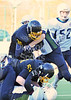 Glasgow University Tigers v Edinburgh University Predators. BUCS American Football Scottish Division game at Garscube on 3 November 2013.