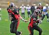 8 November 2015 at Edinburgh Napier University, Sighthill.<br /> BUCS American Football 2015-2016 - Division Scottish/Northern 2A match<br /> Edinburgh Napier Knights v Heriot Watt