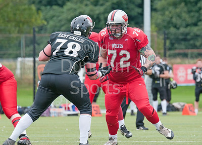 Edinburgh Wolves v Kent Exiles