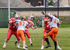 22 July 2018 at Peffermill, Edinburgh. BAFA Premier Division match.  Edinburgh Wolves v Tamworth Phoenix